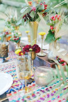 Hippie Wedding Styled \