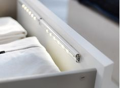 LED Light Strips (For Literally Everything) | The 20 Best Ikea Hacks For Organizing Your Closet, Makeup, And The Rest Of Your Life In 2015 | Bustle
