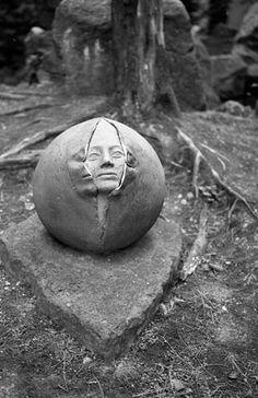 tombstone head