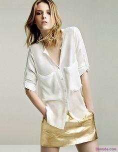 nice Zara bayan tişört modelleri
