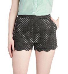 Sculpted shorts