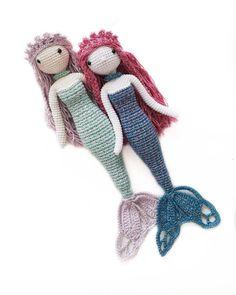 #tbt Patternelizia mermaid by me. Link to my profile #amigurumidesign#pattern#mermaid #mermaids #themermaid #amigurumidoll #crochet #crochetaddict #makersgonnamake #handmade #handmadewithlove