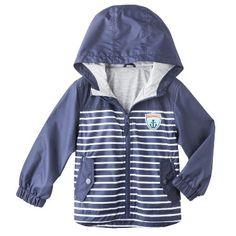 Striped Windbreaker Jacket $14