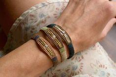 Macrame bracelet friendship bracelet by EarthCraftHandmade on Etsy