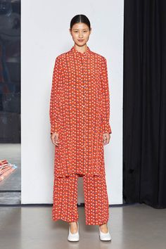See the best look from Marimekko's ready-to-wear collection during Paris Fashion Week.