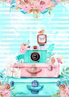 Cute Wallpapers, Wallpaper Backgrounds, Iphone Wallpaper, Mint Wallpaper, Chanel Art, Beautiful Nature Wallpaper, Decoupage Vintage, Arte Pop, Belle Photo
