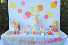 You Are My Sunshine | CatchMyParty.com