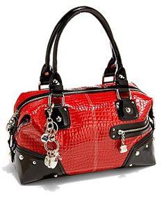Kathy Van Zeeland - Black/Red bag