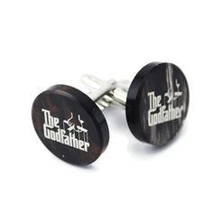 Custom Cufflinks The Godfather Cufflink best by GalleriaCentral, $19.00