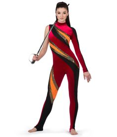A Wish Come True - - Stars Aligned Unitard Dance Outfits, Dance Dresses, Marching Band Shows, Color Guard Uniforms, Aerial Costume, Catsuit, Fashion Outfits, Fashion Trends, Wonder Woman