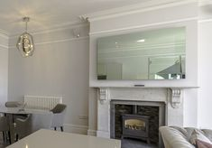 Our mirror TV creates a focal point in any room.