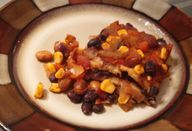 Clean eating, vegetarian chili...the best!