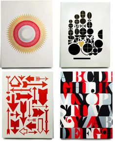 prints by House Industries