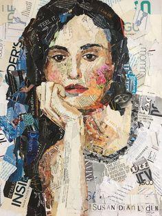 Daydreamer Collage by SusanLydenArtWorks on Etsy