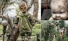Mexico's haunted Island of the Dolls where mutilated toys come to life #DailyMail | You can also see this & more at: http://twodaysnewstand.weebly.com/mail-onlinecom