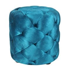 I pinned this Le Pouf Ottoman in Petrol Teal from the On the Bright Side event at Joss and Main!