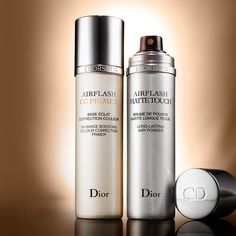 Sephora Dior Airflash CC Primer or Dior Airflash Spray Foundation , and the Airflash Matte Touch long lasting airy powder amazing if you have oily skin use after your Dior Airflash Spray foundation  At Sephora