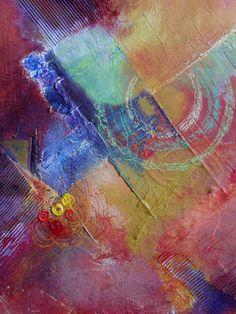 Gedeeld vanaf PNOexpo: Abstracte Schilderkunst in mixed media