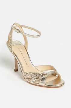 The absolute PERFECT shoe if only it came in silver :( Ivanka Trump 'Anita' Sandal available at Simple Shoes, Casual Shoes, Pretty Shoes, Cute Shoes, Bridal Shoes, Wedding Shoes, Basson, Shoe Wardrobe, Silver Sandals