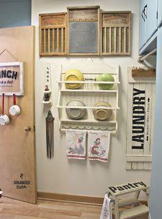 WASHING MACHINE MAGNET Laundry Room Art Distressed Rustic Retro Vintage Mom Wife