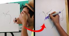 These Scribbles Look Like Nothing At First, But Watch What She Does With Them