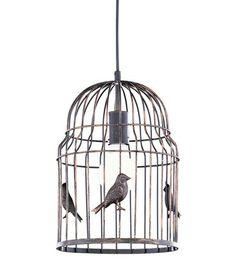 Lintuhäkki-kattovalaisin, ruskea 50€