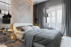 Stylish And Comfortable Bedroom - Picture gallery