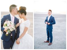 Groom holds the bouquet | Brooke Bakken | Utah Photographer
