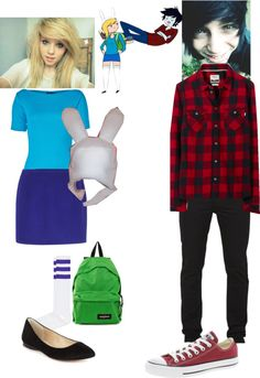 """""""Fiona and Marshall Lee outfit"""" by fallingstarsshine ❤ liked on Polyvore"""