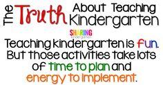 Teaching kindergarte