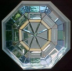 victorian octagon stained glass - Google Search