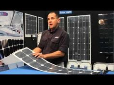 SolbianFlex Solar Panels - lightweight, flexible solar for marine, motorhomes and camping - YouTube