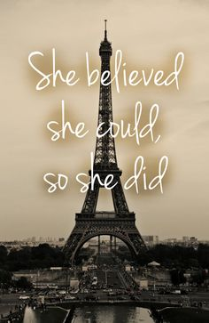 She Believed She Could So She Did quote on photo by PhotoQuote, $28.00 #typeonphoto #photoquote #quoteonphoto