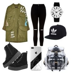 """💓 This Style"" by bebarevay on Polyvore featuring New Look, adidas and Rosendahl"