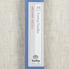 Tulip needles are high-quality needles crafted in Japan.