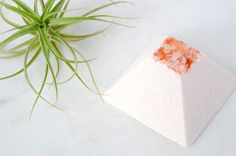 Himalayan Marble Spa Stone Sea Salt Soap, Himalayan Pink Salt, Avocado Oil, Seed Oil, Shea Butter, Marble, Spa, Stone, Rock