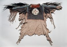 Metropolitan Museum of Art. Man's Shirt, ca. 1830. Northern Plains, probably Blackfeet.