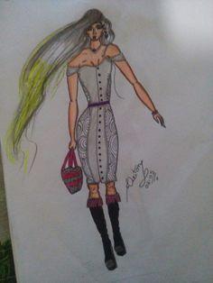 #Moda #Feminina #Croqui #Desenhos #Top #Pinterest