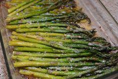 Garlic and Parmesan Roasted Asparagus. http://thecookinchicks.com/2013/04/garlic-and-parmesan-roasted-asparagus/