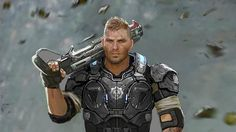The Weapons And Enemies Of Gears Of War 4. The new weapons we've seen are essentially construction equipment that has been repurposed for violent means. The Coalition chose construction equipment in particular as an inspiration because of Gears of War 4's setting becasue the humans left on Sera are trying to build a new life after the war with the Locust. The two new big weapons we saw (and played with) are the Dropshot and the Buzzkill.