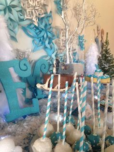 Disney Frozen Birthday Party Ideas | Photo 4 of 24 | Catch My Party