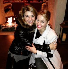 """Pin for Later: The Full House Cast Really Loves One Another in Real Life  Lori: """"@candacecbure @hallmarkchannel #sundance2015"""""""
