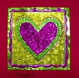 Artsonia: Mexican Tin Hearts gr4