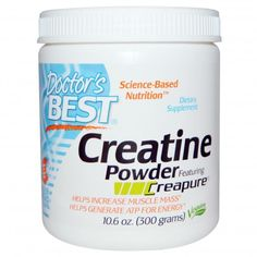 Doctor's Best Creatine Powder Featuring Creapure 300 g at Megavitamins Online Supplement Store Australia.Doctor's Best Creatine Powder Helps Increase Muscle Mass.Doctor's Best Creatine Powder Generate ATP for Energy,Strength & endurance.