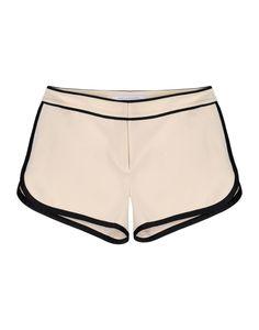 Diane Von Furstenberg Jen Track Shorts - Sporty chic for Super Bowl Sunday #ShopBAZAAR http://shop.harpersbazaar.com/trends/game-set-match