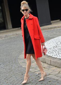 Renee Zellweger #PFW #StreetStyle