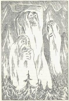 Tove Jansson -- some unlucky trolls