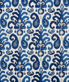 Suburban Home Rasul Blue Fabric