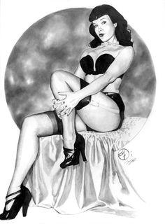 Betty Page Pinups