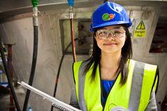 Karen Lai, ingénieure - Usine de traitement des déchets de Tees Valley, Billingham - SITA UK #Metier En 2015, 25 % des cadres chez #ENGIE seront des femmes, découvrez comment en cliquant sur la photo